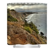 Morning Pacific Storm Clouds Shower Curtain