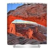 Morning Paint Shower Curtain