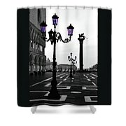 Morning - St. Mark's Square Shower Curtain