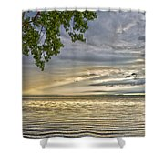 Morning Storm Shower Curtain