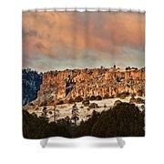 Morning Sun On The Ridge Shower Curtain
