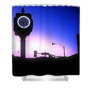 Morning Sunrise In Hermosa Beach Shower Curtain
