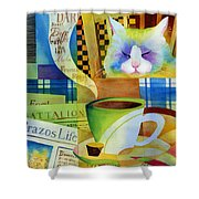 Morning Table Shower Curtain