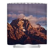 Morning's First Rays Shower Curtain