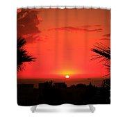 Moroccan Sunset Shower Curtain
