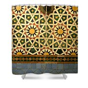 Moroccan Water Fountain Shower Curtain