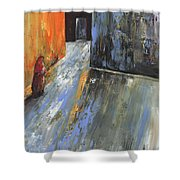 Moroccan Woman 01 Shower Curtain