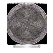 Morphed Art Globe 26 Shower Curtain