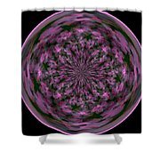 Morphed Art Globe 28 Shower Curtain