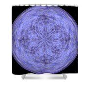 Morphed Art Globe 30 Shower Curtain