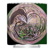 Morphed Art Globe 36 Shower Curtain