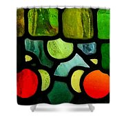 Morris Stained Glass Shower Curtain