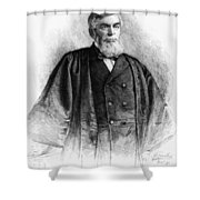 Morrison R Shower Curtain