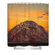 Morro Rock 3007 Shower Curtain