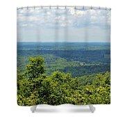 Morrow Mountain  Shower Curtain