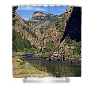 Morrow Point Reservoir Shower Curtain
