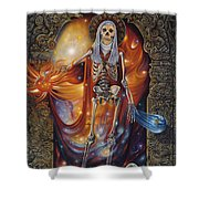 Mors Santi Shower Curtain
