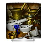 Mortars And Pestles Shower Curtain