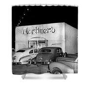 Mortimers Dining  Dancing Marina California  Circa 1948 Shower Curtain