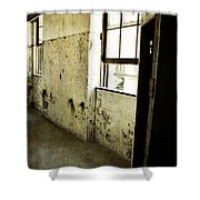 Morton Hotel Interior Shower Curtain