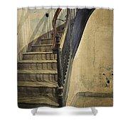 Morton Hotel Stairway Shower Curtain