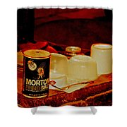 Morton Salt Born 1952 Shower Curtain