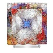 Mosaic 114-02-13 Marucii Shower Curtain