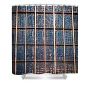 Mosaic Alamo In Glass Shower Curtain