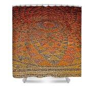 Mosaic Floor In Bergama Museum-turkey Shower Curtain