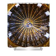 Mosaic Of Christ Pantocrator Shower Curtain