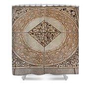 Mosaic Works Shower Curtain