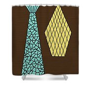 Mosaics 1 Shower Curtain