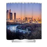 Moscow City Shower Curtain