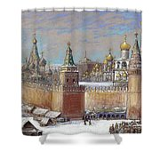 Moscow: Kremlin Shower Curtain
