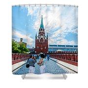 Moscow Kremlin Tour - 03 Of 70 Shower Curtain
