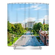 Moscow Kremlin Tour - 04 Of 70 Shower Curtain