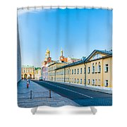 Moscow Kremlin Tour - 09 Of 70 Shower Curtain