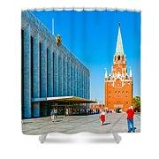 Moscow Kremlin Tour - 15 Of 70 Shower Curtain