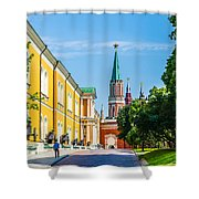 Moscow Kremlin Tour - 17 Of 70 Shower Curtain