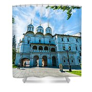 Moscow Kremlin Tour - 19 Of 70 Shower Curtain