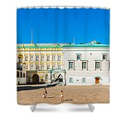 Moscow Kremlin Tour - 28 Of 70 Shower Curtain