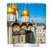 Moscow Kremlin Tour - 31 Of 70 Shower Curtain