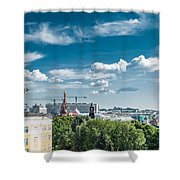 Moscow Kremlin Tour - 32 Of 70 Shower Curtain