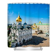 Moscow Kremlin Tour - 34 Of 70 Shower Curtain