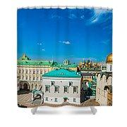 Moscow Kremlin Tour - 36 Of 70 Shower Curtain