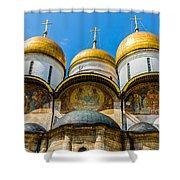 Moscow Kremlin Tour - 38 Of 70 Shower Curtain