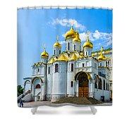 Moscow Kremlin Tour - 45 Of 70 Shower Curtain
