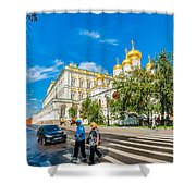Moscow Kremlin Tour - 52 Of 70 Shower Curtain