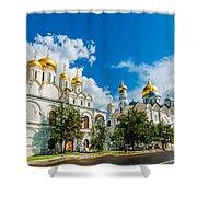 Moscow Kremlin Tour - 57 Of 70 Shower Curtain