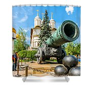Moscow Kremlin Tour - 67 Of 70 Shower Curtain